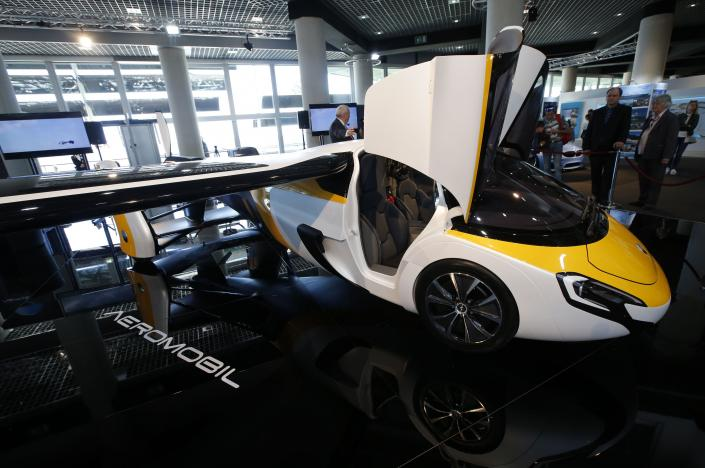 PHOTOS: Flying Cars Are Now Produced