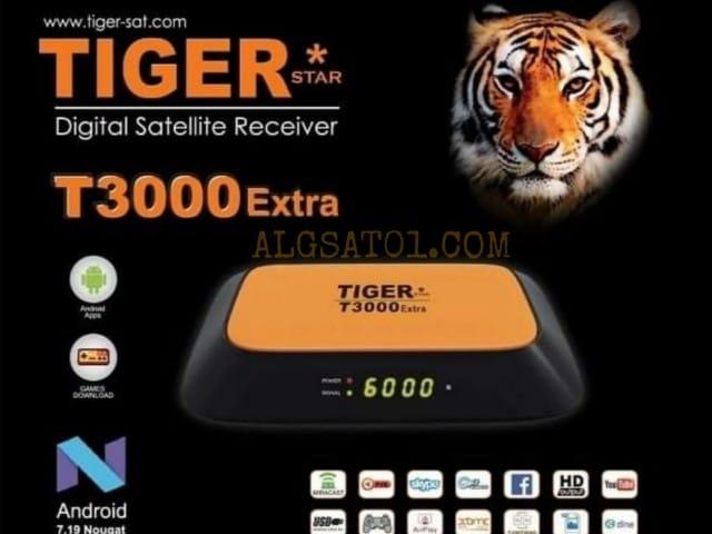 تحديث جديد لرسيفر TIGER T3000 EXTRA بتاريخ 03-12-2020 رقم الاصدار V3.81