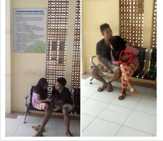 Memalukan,Tercyduk Camera Dua Remaja Berbuat Mesum Diruang Tunggu Rumah Sakit