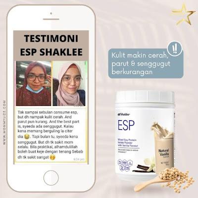 Kebaikan Protein ESP Shaklee Untuk Kulit Sihat Dan Cantik