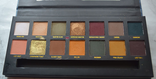 A picture of the On The Rocks Neutrasl on Ice eye colour palette by W7