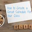 How to Plan Your Daily Teaching Schedule