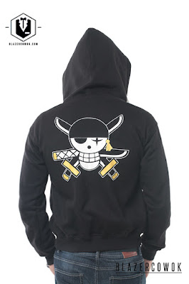 Jaket Anime One Piece Marine
