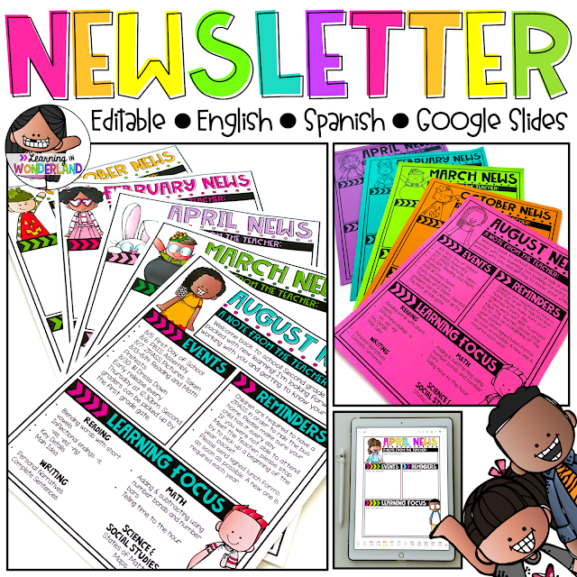 Digital Newsletters for the Primary Classroom