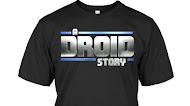 Star Wars A Droid Story Logo T Shirt