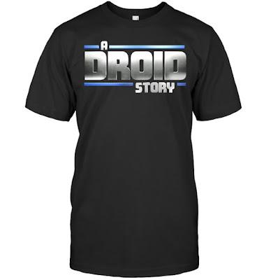 Star Wars A Droid Story Logo T Shirts