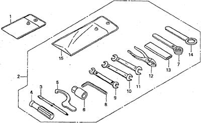 NSR Salatiga: NSR 150 SP Parts Catalogue: Tools
