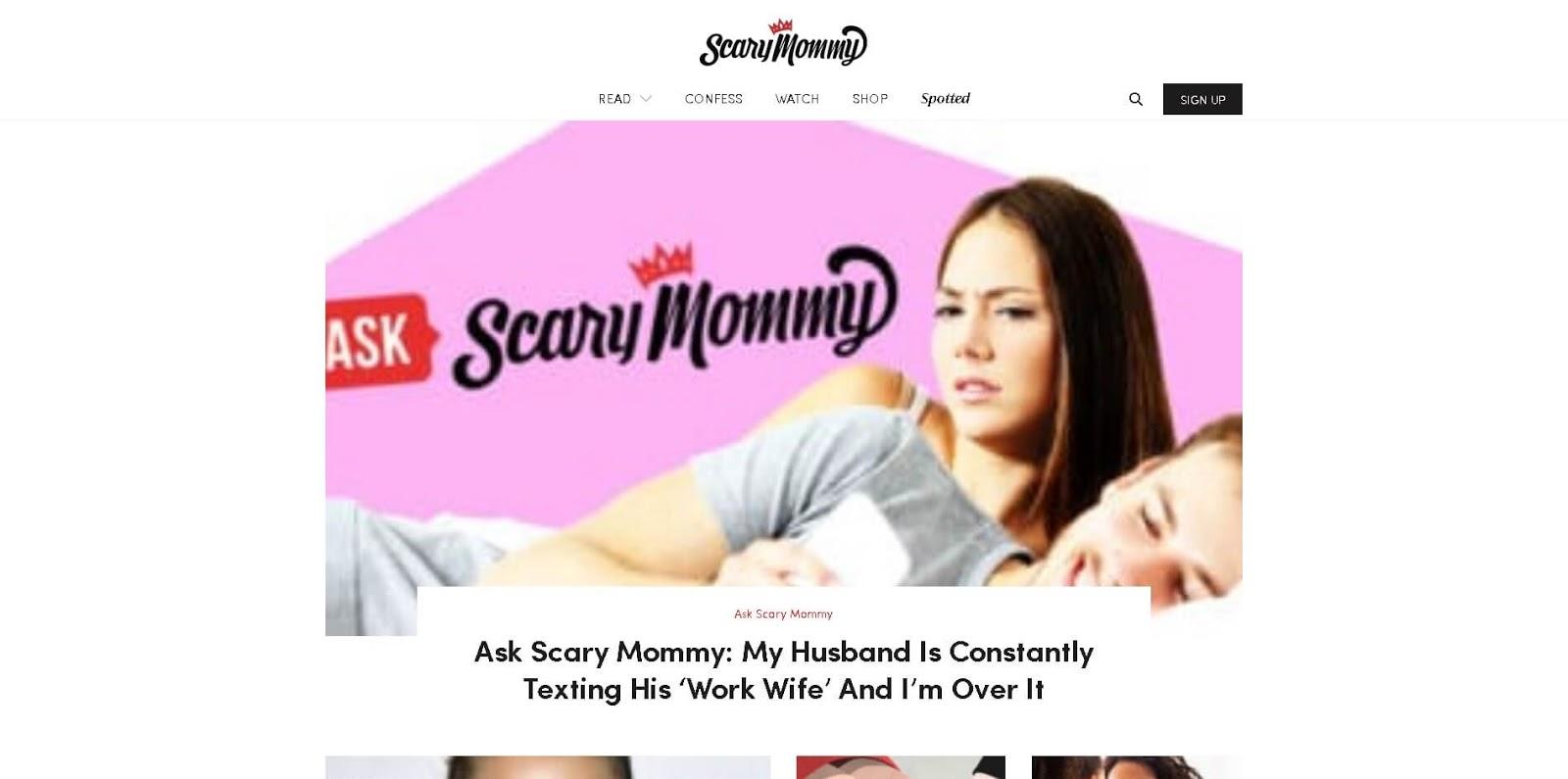 luchshie-mamskie-blogi-glavnaya-stranicza-scary-mommy-skrinshot