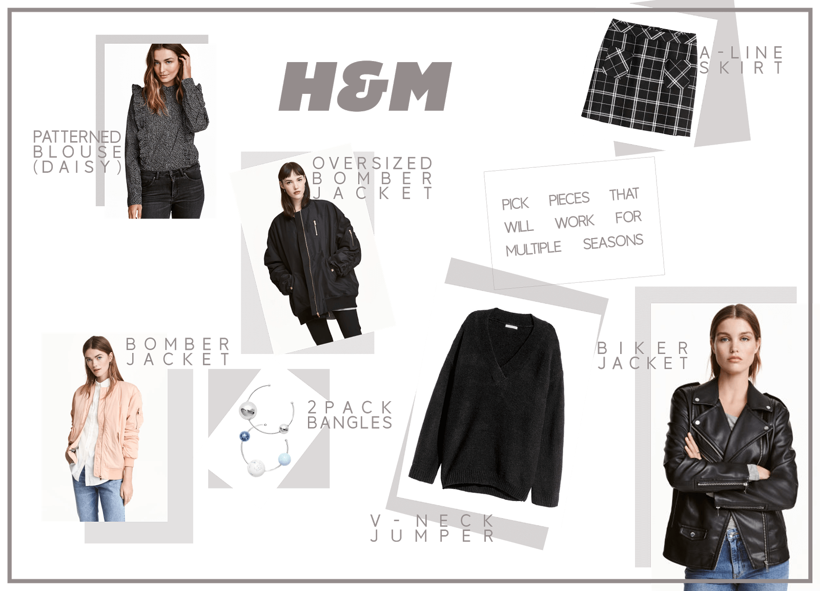 h&m clothing wishlist january uk fashion blogger