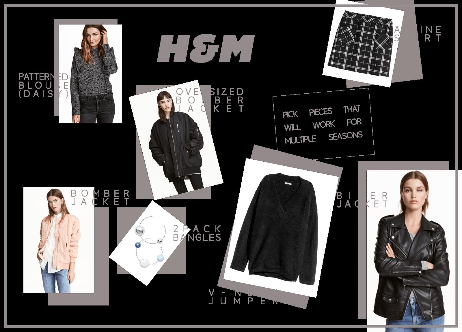 h&m clothing wishlist january uk fashion blogger