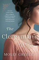 Book cover: The Clergyman's Wife - Molly Greeley (ANZ cover)
