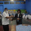 Ketum  Alex Harijanto  Melantik Kurniadi Maulato Ketua Taekwondo Kabupaten Karanganyar Periode 2021-2025