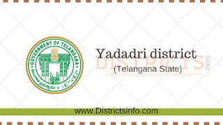 Yadadri  District in Telangana and New Mandals  List