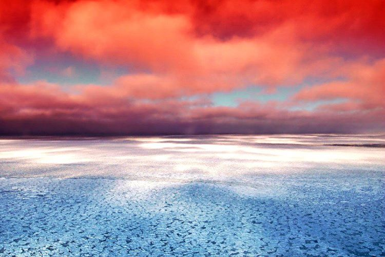 Yeryüzündeki diğer bölgelere kıyasla Hudson Körfezi'ndeki yer çekimi kuvveti daha düşüktür.