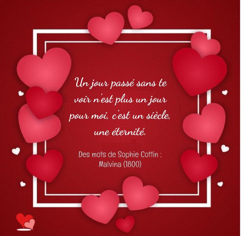 Petits mots doux d'amour