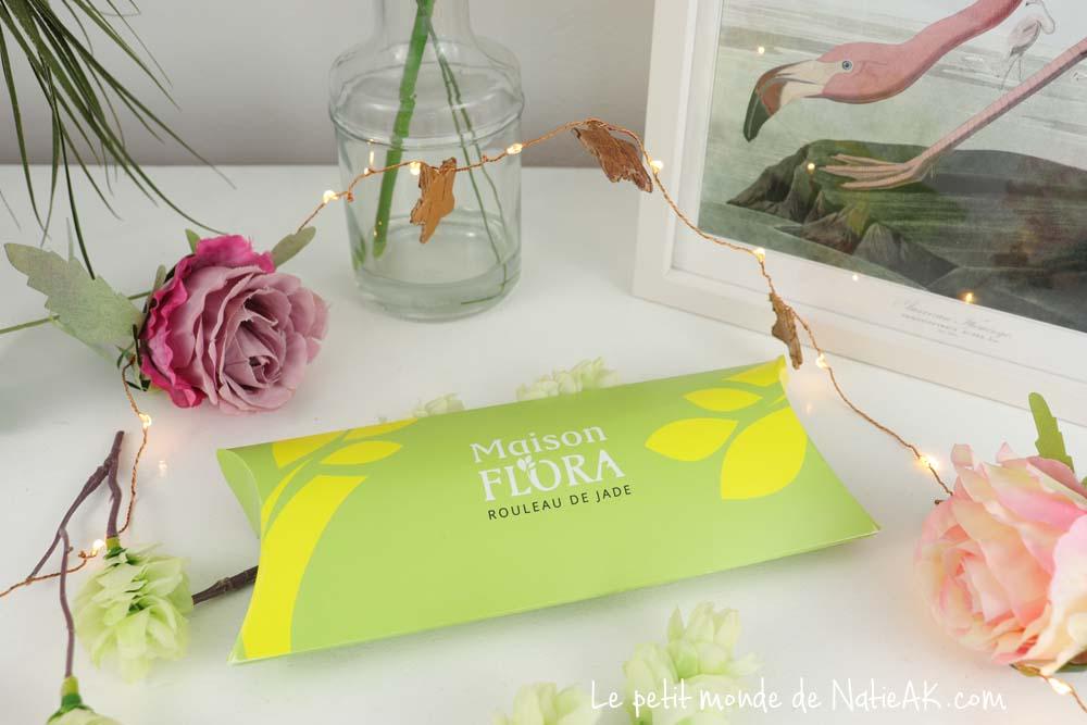 rouleau de Jade Maison Flora Belle au naturel