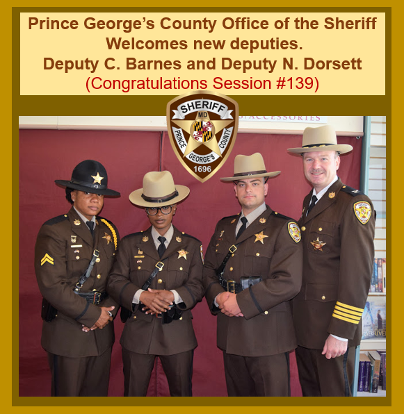 Prince George's County Office of the Sheriff: June 2019
