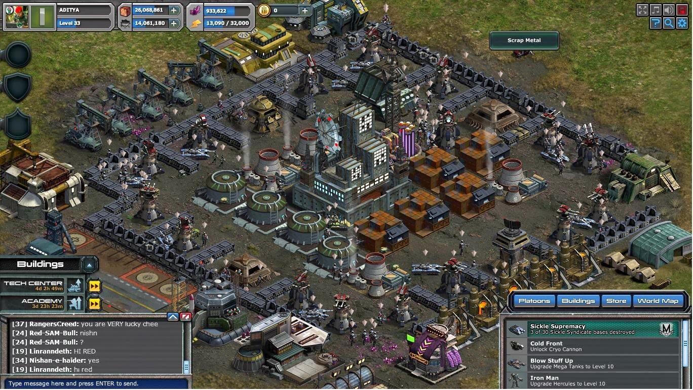 War Commander: War Commander Bases Level 33 Layout Examples