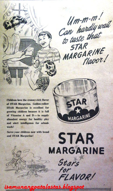 ISA MUNANG PATALASTAS: 99  Brand Stories: STAR MARGARINE