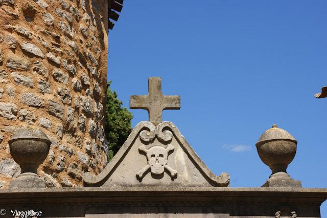 Ingresso del Cimitero di Rennes le Chateau