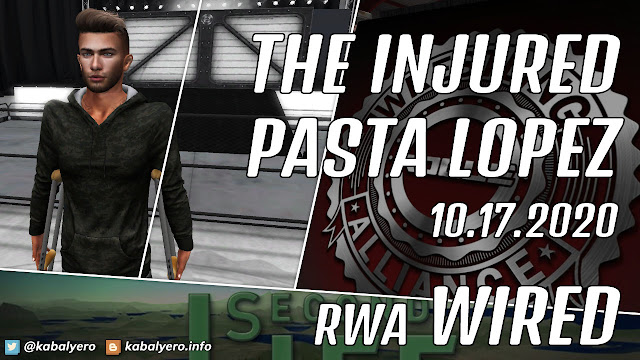 Pasta Lopez & The Drifter Malaki • RWA WIRED (10.17.2020) Second Life Wrestling