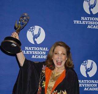 Margaret Blye's sister Judy Blye Wilson with awards
