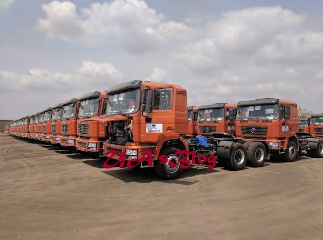 Dangote Invests N63 Billion In Enugu-Based Automaker, Buys 3,500 Trucks