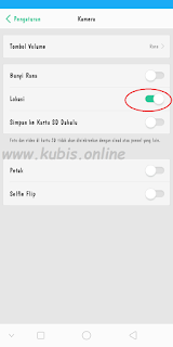 Cara Menampilkan Lokasi di Kamera Oppo A83
