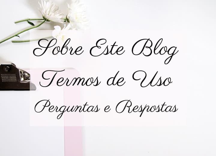 sobre o blog Baú da Dri perguntas e respostas