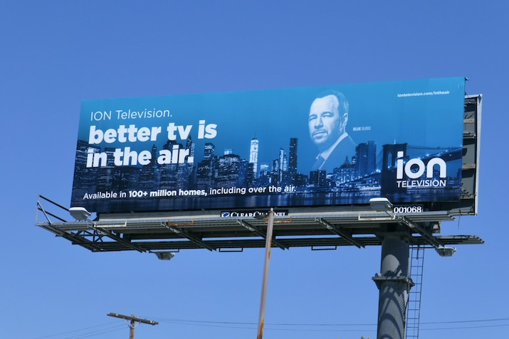 Better TV is in the air Ion Blue Bloods billboard