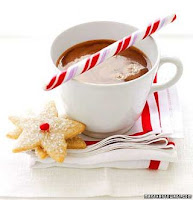 Homemade Peppermint Hot Chocolate- www.thecreativeconfectionista.com