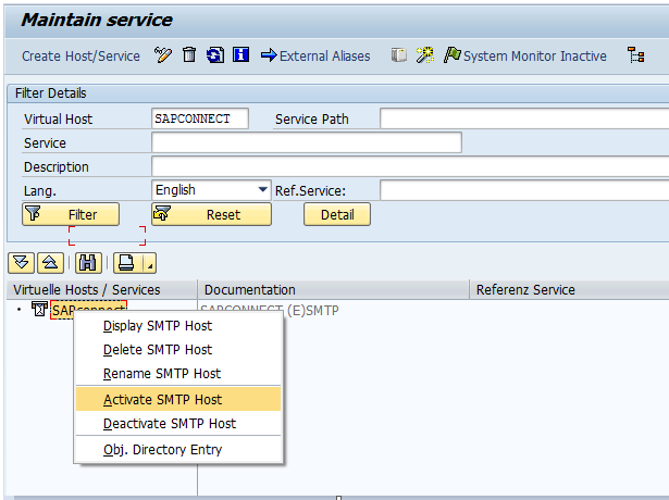Smtp Mail Configuration In Sap In Sap Basis - Resume Examples