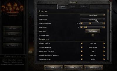 Best Settings, Diablo II, Resurrected, Run Smoothly, PC