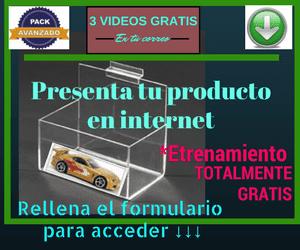 entrenamiento gratis para vender y presentar tu producto en internet