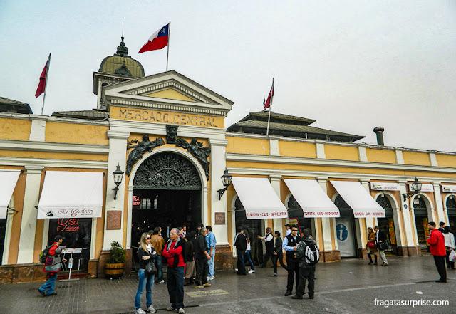 Mercado Central, Santiago do Chile