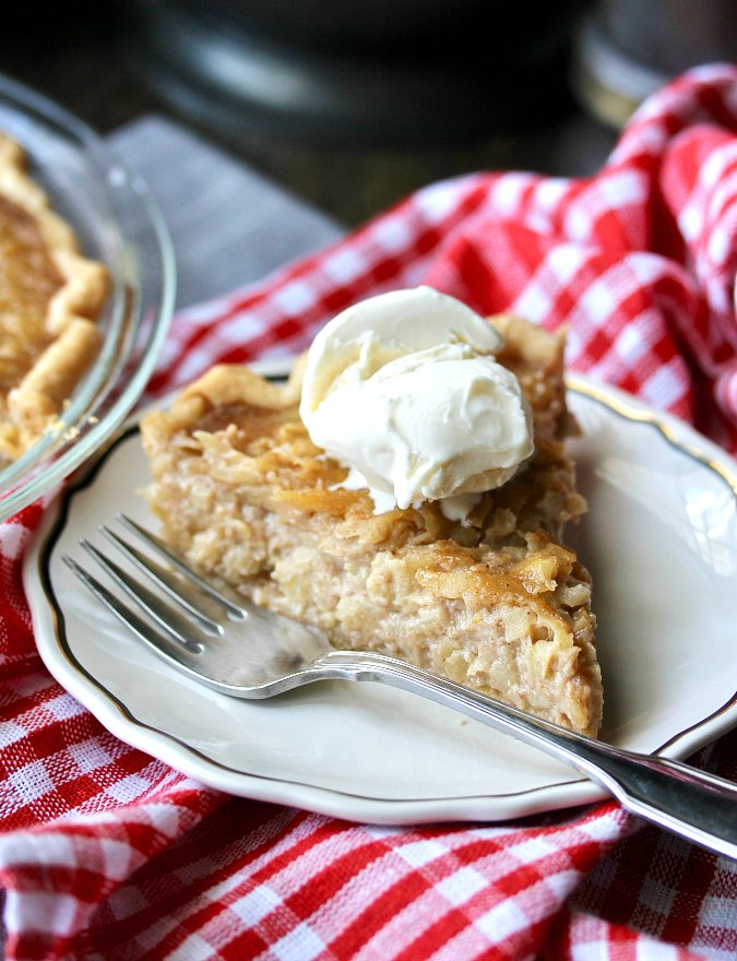 Marlborough Apple Custard Pie