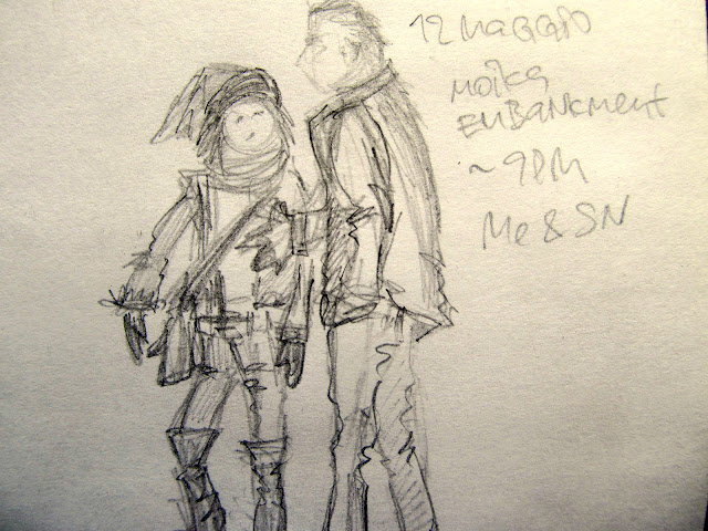 Pencil-gesture-sketch