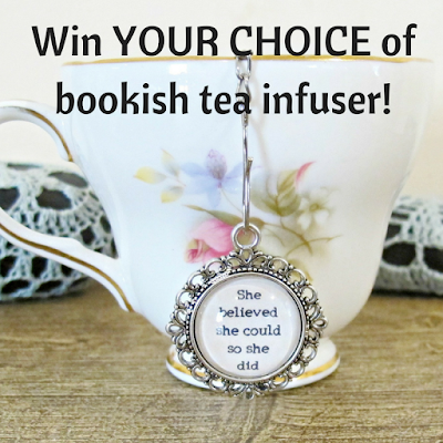 domum vindemia tea infuser strainer quote scoring wilder she believed she could so she did foodie gift homewares