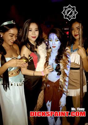 Face Body Painting Avatar Jakarta