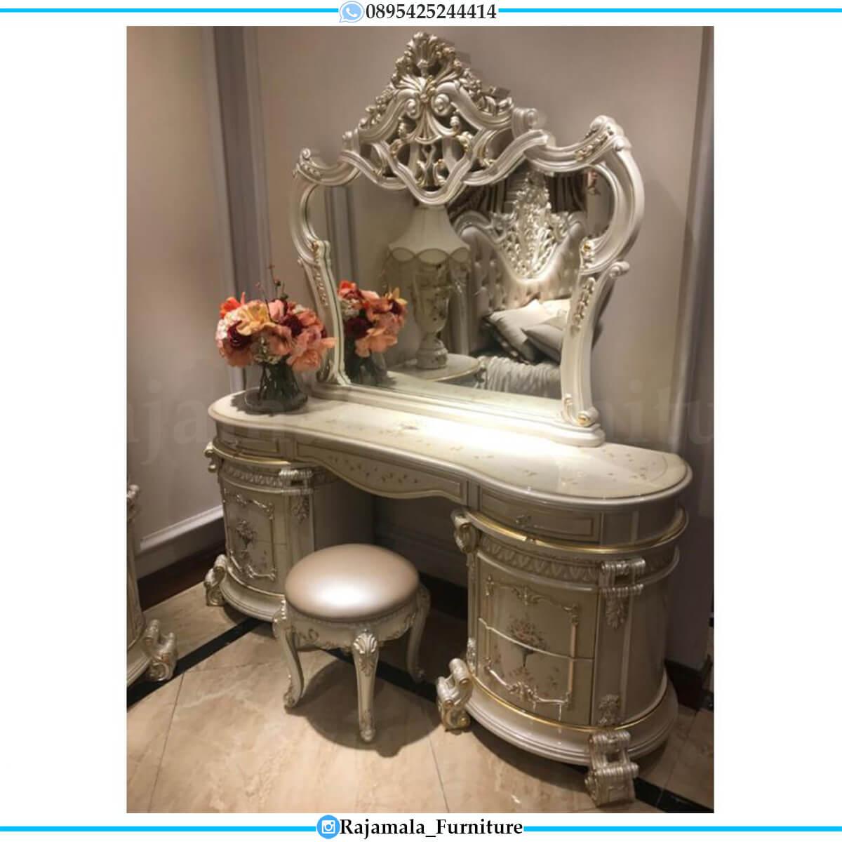 Harga Meja Rias Mewah Classic Luxury Furniture Jepara Terbaru RM-0584