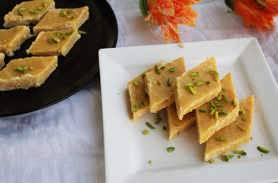 a simple festive sweets for dimali or christmas using gram flour sweet treat indian burfi seven cup cake recipe easy simple sweets with seven ingredients