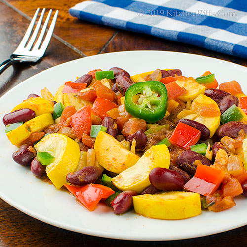 Chili-Spiced Vegetable Stir-Fry