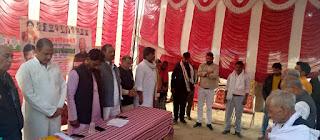किसानों को अधिकार दिलाना कांग्रेस की प्राथमिकता–मकसूद खान   #NayaSaberaNetwork