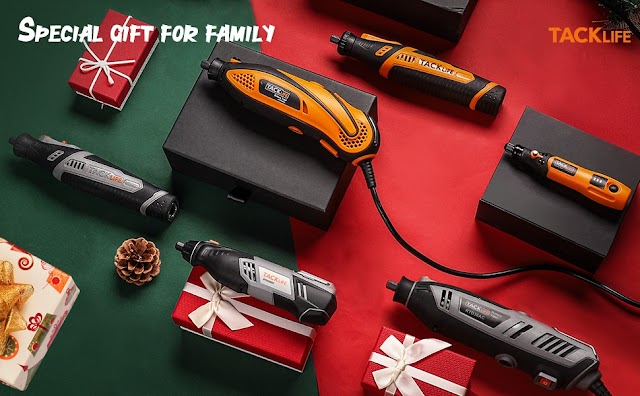 Multi-functional Rotary Tool Kit Variable Speed for Around-the-House and Crafting Projects
