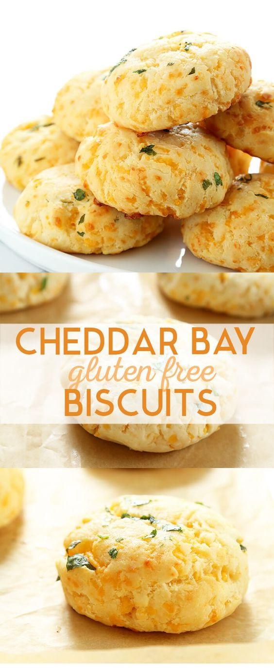 Gluten Free Cheddar Bay Biscuits