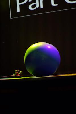 Artista circense Mr. Balão de Humor e Circo Produtora se apresentando em evento de premiação de empresa em SP.
