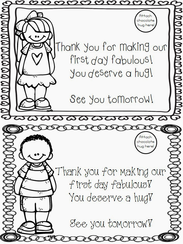 The Very Busy First Graders: Back to School Freebie, Walk ...