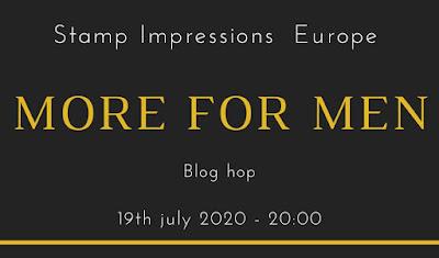 Stampin' Up! rosa Mädchen Kulmbach: Stamp Impressions Blog Hop: More for Men: Geburtstagskarte mit Bestickte Dreiecke und Zany Zebras