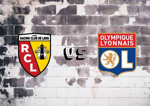 Lens vs Olympique Lyonnais  Resumen