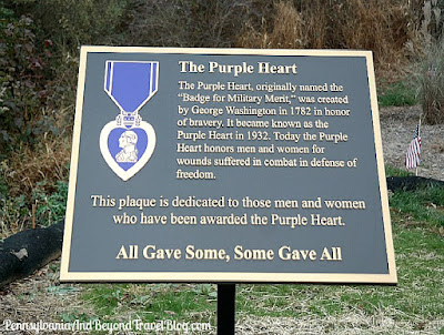 Captain Leon Lock Veterans Memorial Park - Purple Heart Memorial
